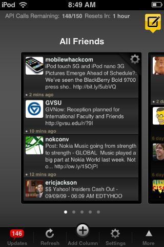 TweetDeck for the iPhone.